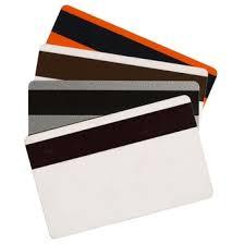 Caja Tarjeta Plastica PVC Zebra Premier Card yellow 104523-131