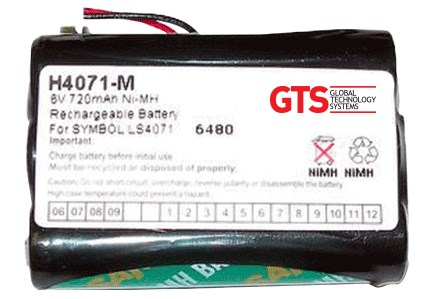 H4071-M Bateria para Zebra LS4070