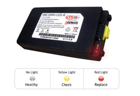 HMC3X00-LI S -G Bateria para Zebra MC3000 MC3100