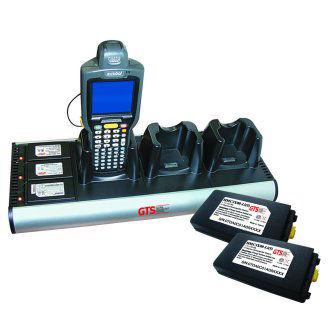 HCH-3033-CHG Cargador 3 baterias para Zebra MC3000 MC3100