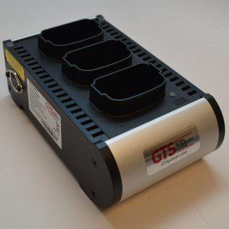 HCH-9003-CHG Cargador 3 baterias para Zebra MC9000 9100