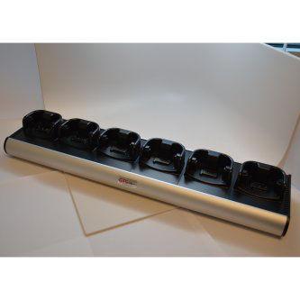 HCH-9060-CHG Cargador Cuna 6 baterias para Zebra MC9000 9100