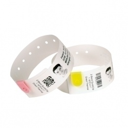 Caja Etiqueta Brazalete 10012718-2 Zebra Z-Band Splash yellow