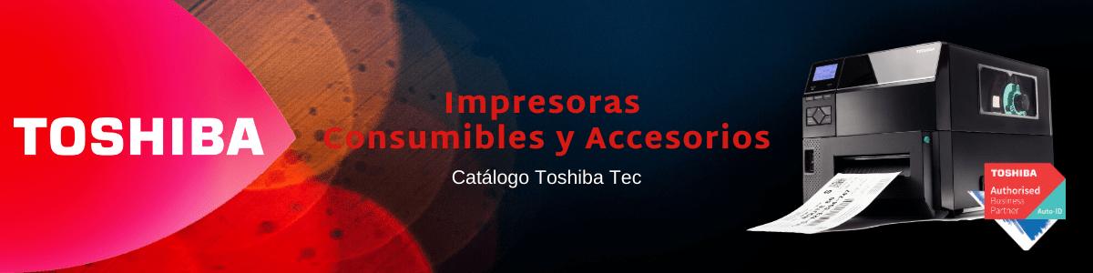 Toshiba Tec catalogo impresoras identifica