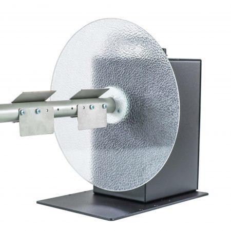 Rebobinador CAT-3-10-INCHES maneja etiquetas de hasta 255mm (10 pulgadas) de ancho y puede bobinar un rollo de etiquetas de hasta 300mm de diámetro.