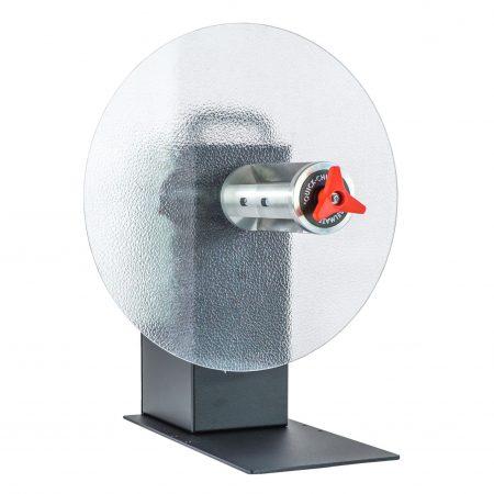Rebobinador CAT-40G es un motor reductor accionado para más par de torsión. Admite rollos más grandes con un diámetro de hasta 400m