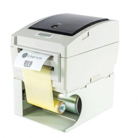 rebobinador MINI-CAT INTEGRATED es el complemento impresora de códigos de barra de sobremesa